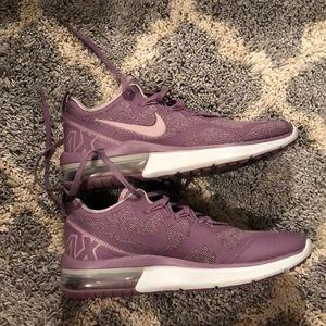 purple Nike air maxs